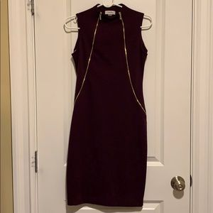 Never worn Calvin Klein size 2 fall dress
